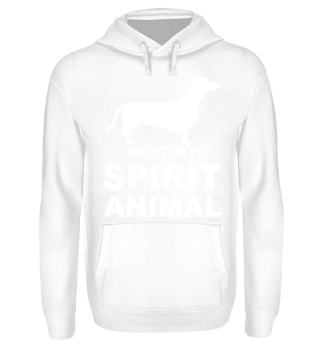 Meet my spirit animal - dachshund white