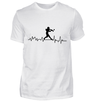 Heartbeat Softball - T-Shirt