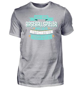 Ich bin Baseballspieler, cooler als du.