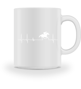 jockey horse racing horseman horses hoof heartbeat cool fun funny geek nerdy breeder gift