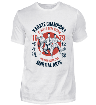Karate champions - martial arts