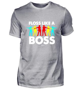 Floss Like a Boss Floss Tanz Junge Jungs