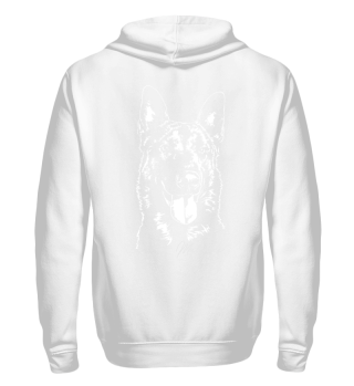 Sweatjacke MALINOIS Hund dog