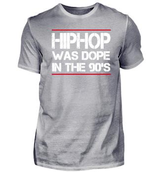 Hiphop war cool in den 90er Jahren