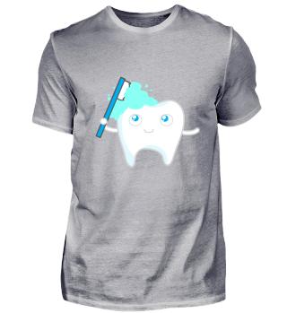 Kindermotiv Zähne putzen