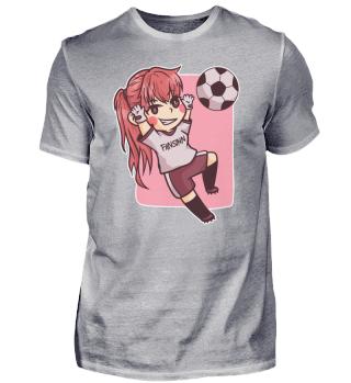 Mädchen Torwart Fussball Sport Spielerin