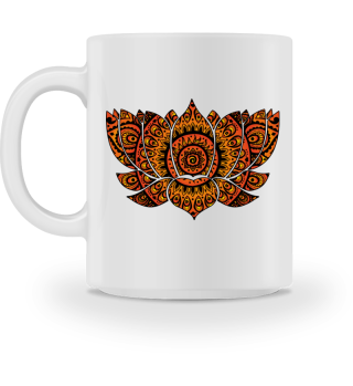 Folklore Mandala - Lotos Flower Ia