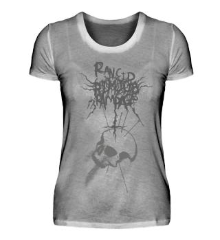 RRR - Black Skull - Girlie