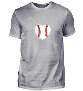 I Love Baseball - Sport Birthday Gift