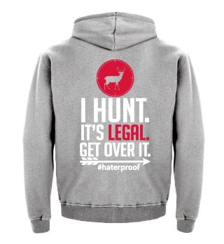 I Hunt it's legal