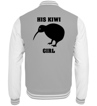 Kiwi Girl Collegejacke Partnerlook