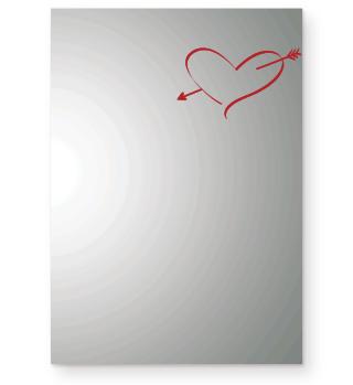 Herz, Pfeil, Liebe