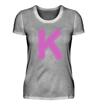 Alphabet - Letter - K