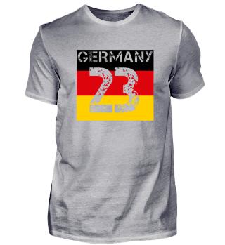 Deutschland fußball malle team wm em meister 23