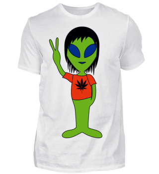 Peace Alien - Marijuana Friend