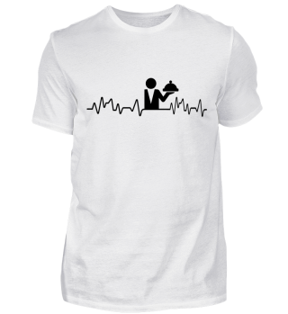Heartbeat Kellner - T-Shirt