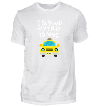 MY TRIP TO NYC Gift Car Travel Taxi