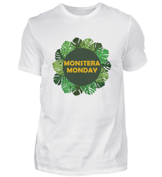Monstera Monday Sukkelente Pflanze Wappen