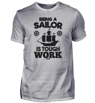 Sailing boat sailor sea gift