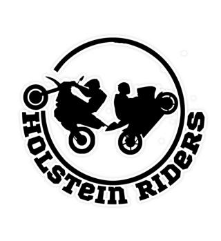 Holstein Riders Modern Black Sticker
