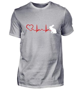 Heartbeat Kanin Tee