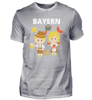 Bayern Gaudi Dirndl T-shirt