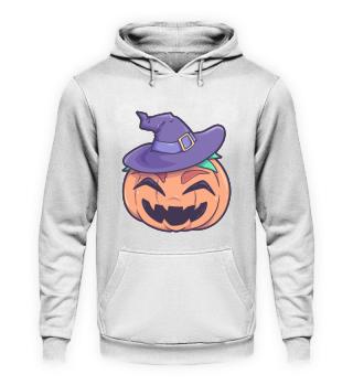 Pumpkin Witch Halloween Monster