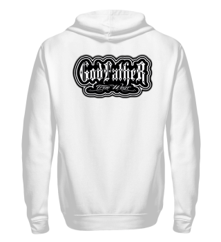 Herren Zip Hoodie Sweatshirt God Father Ramirez