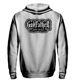 Herren Zip Hoodie Sweatshirt God Father Ramirez