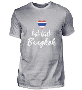 Bangkok Thailand Heart Flag Southeast As