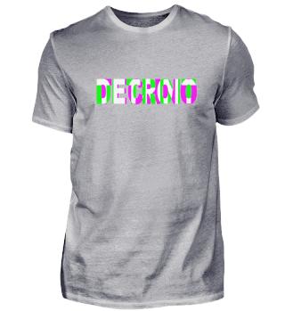 DETROIT TECHNO DJ Raver Party T-Shirt
