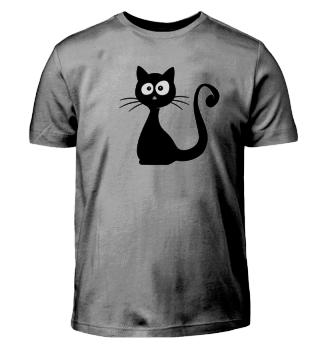 schrullige Katze Shirt