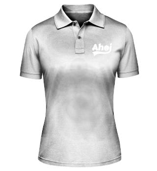 Ahoi mit Anker - Damen Polo-Shirt