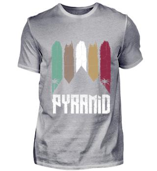 Pyramiden von Gizeh | Retro Vintage