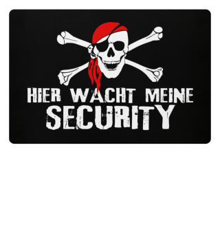☠ Totenkopf Pirat - SECURITY WACHT