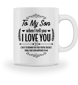 My son is the best... - Gift