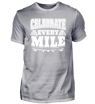 Running Runner Shirt Celebrate