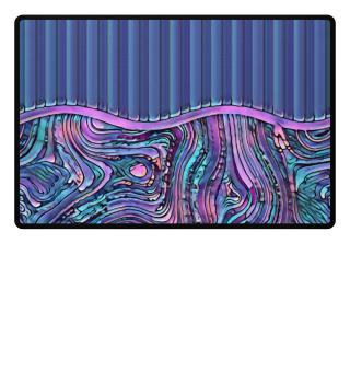 ♥ Abstract Art Formulation Stripes III