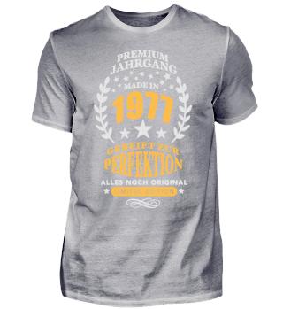 Geburtstags Shirt Premium Jahrgang 1977