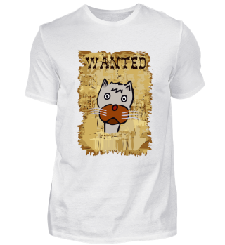 Funny Cool Wanted Western Cat