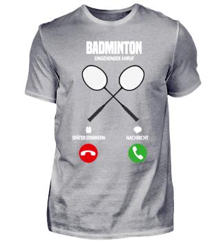 Telefon Badminton ruft mich! Geschenk