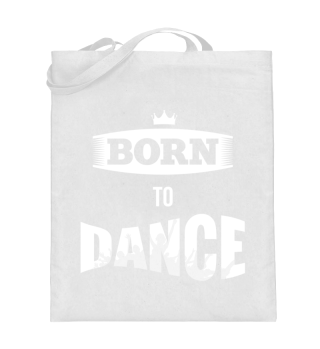 Born to dance Shopping Bag