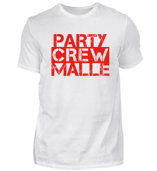 party crew member 01 mallorca malle team niemals