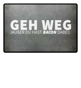 GEH WEG BACON FUSSMATTE