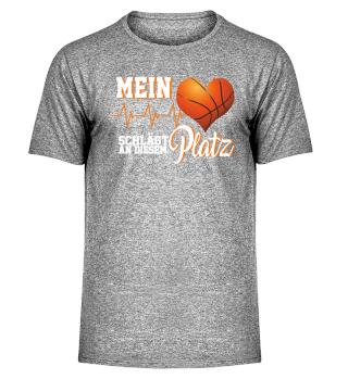Basketball Herz Sportplatz
