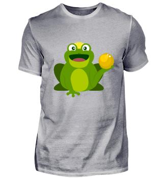 Kindermotiv: Froschkönig