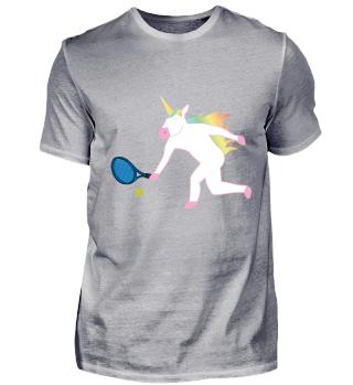 Für Einhorn und Tennis Fans