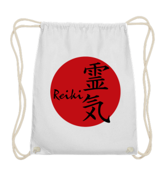 ★ Reiki Healing Energy Sign - red black