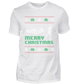 Running Runner Shirt Merry Christmas