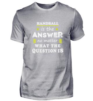 Handball Funny Saying Cool Sport Gift